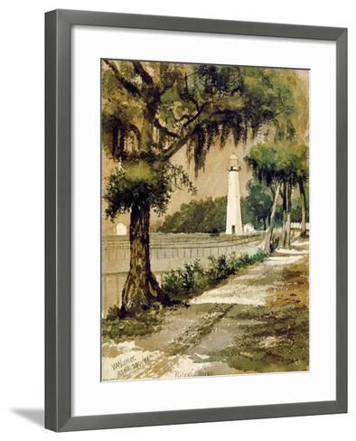 Bioloxi Lighthouse, Biloxi, Mississippi-William Aiken Walker-Framed Art Print