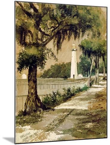 Bioloxi Lighthouse, Biloxi, Mississippi-William Aiken Walker-Mounted Giclee Print