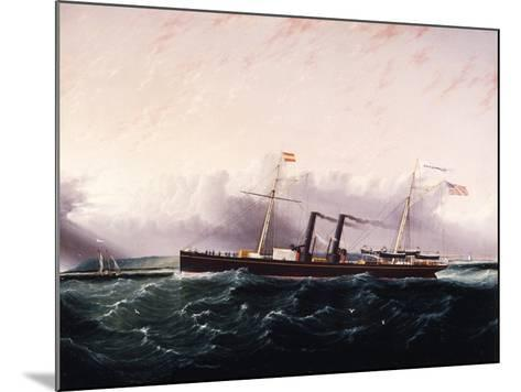 C.S.S. Chickamauga Ca. 1860-1880-James Edward Buttersworth-Mounted Giclee Print