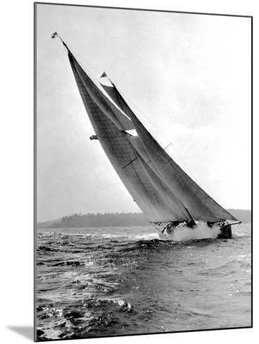 Auxiliary Schooner Mary Rose-Edwin Levick-Mounted Photographic Print