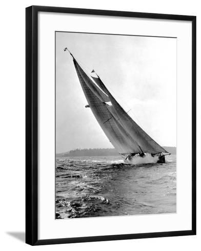 Auxiliary Schooner Mary Rose-Edwin Levick-Framed Art Print