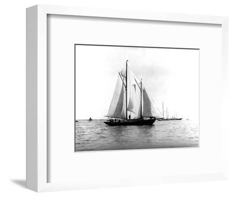 Trade Wind in the Bermuda Race-Edwin Levick-Framed Art Print