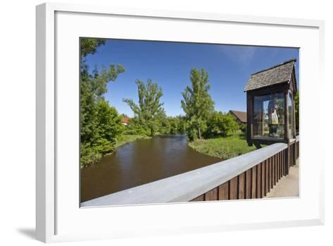 Europe, Germany, the Bavarian Forest, Upper Palatinate, Rštz-Chris Seba-Framed Art Print