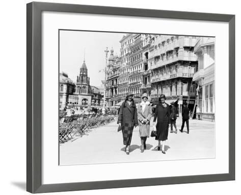 Ostende, Belgium, 1925-Edward Hungerford-Framed Art Print