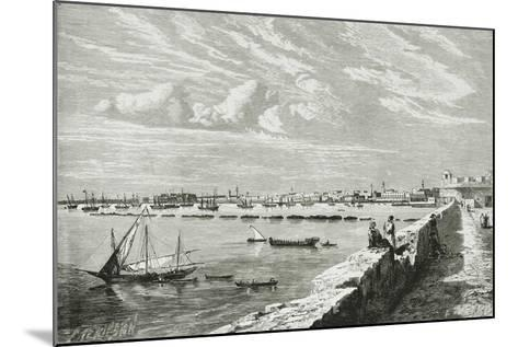 Harbour of Tripoli--Mounted Giclee Print