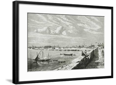 Harbour of Tripoli--Framed Art Print