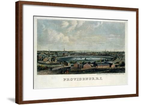 Providence, Rhode Island--Framed Art Print