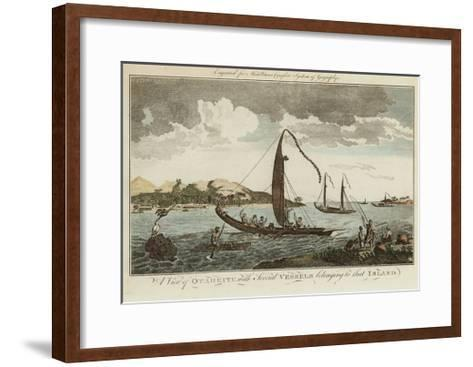 A View of Otaheite--Framed Art Print