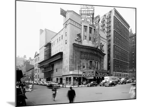 Loew's Ziegfeld, New York--Mounted Photographic Print