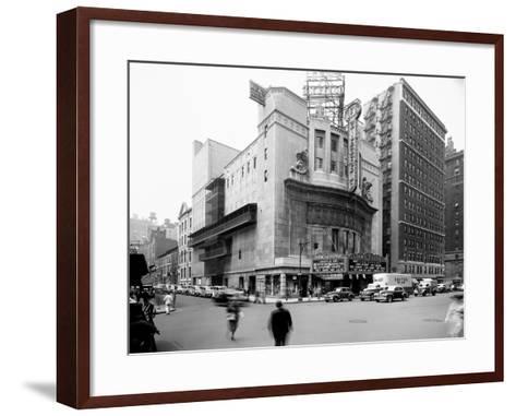 Loew's Ziegfeld, New York--Framed Art Print
