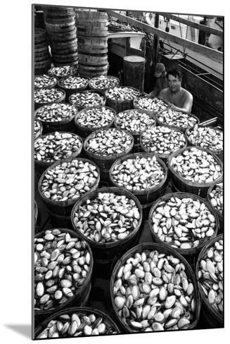 Baskets Filled with Clams 1961-A. Aubrey Bodine-Mounted Photographic Print