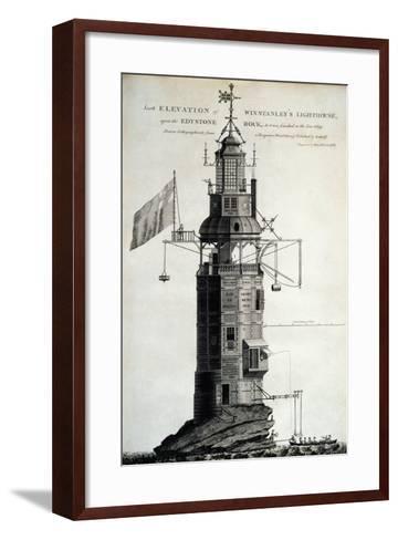 Winstanley's Lighthouse--Framed Art Print