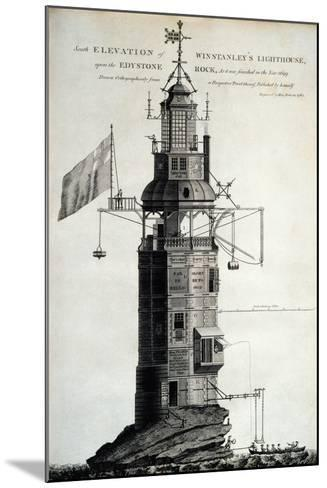 Winstanley's Lighthouse--Mounted Giclee Print
