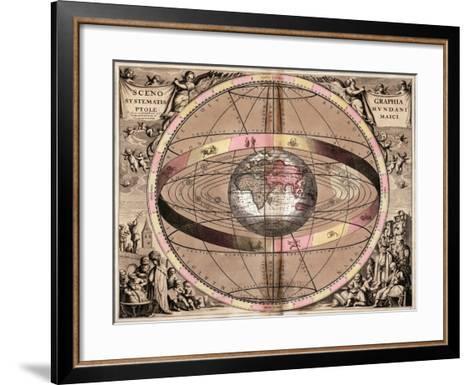 Armillary Sphere, 1710-Gerard Valck-Framed Art Print