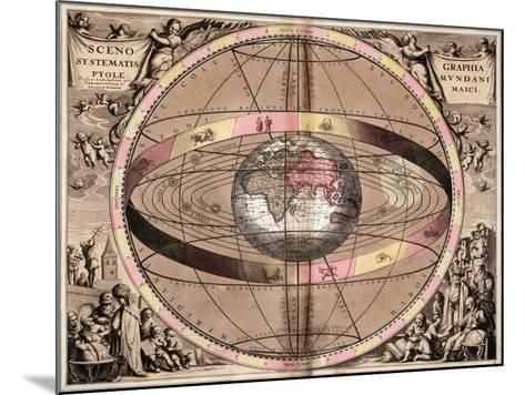Armillary Sphere, 1710-Gerard Valck-Mounted Giclee Print