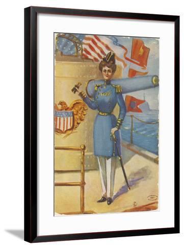 Miss Admiral-G.C. Mather-Framed Art Print
