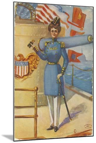 Miss Admiral-G.C. Mather-Mounted Giclee Print