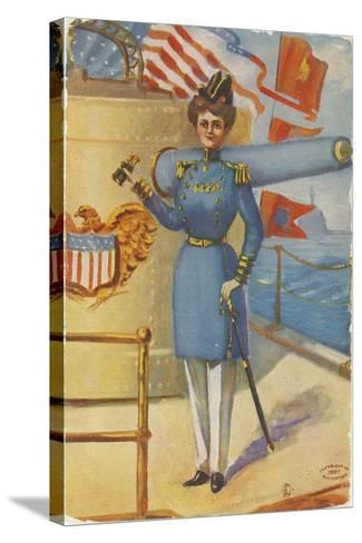 Miss Admiral-G.C. Mather-Stretched Canvas Print