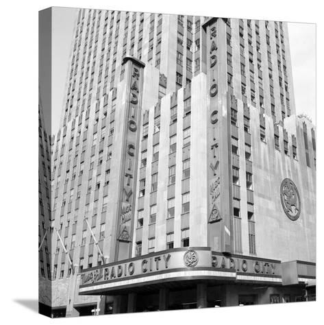 Radio City Music Hall-Edwin Levick-Stretched Canvas Print