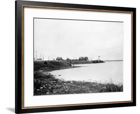 Prescott, Ontario, Canada-Edward Hungerford-Framed Art Print