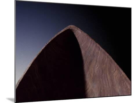 Detail from Dugout Pirogue Canoe from Louisiana-Gregg Vicik-Mounted Photographic Print