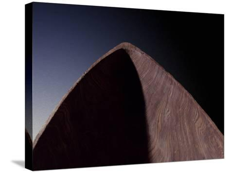Detail from Dugout Pirogue Canoe from Louisiana-Gregg Vicik-Stretched Canvas Print
