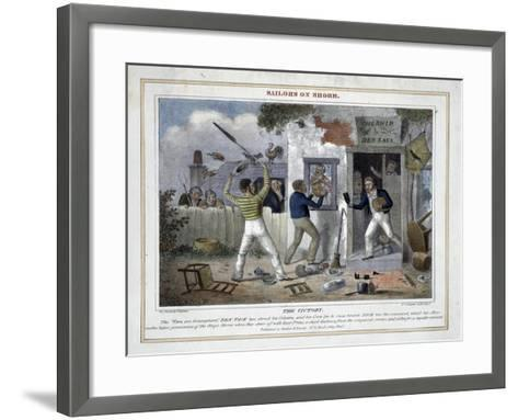 The Victory!-Peter Pasquin-Framed Art Print