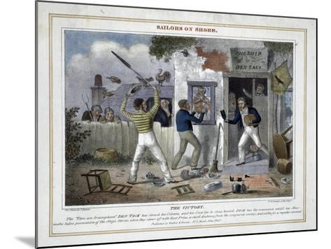 The Victory!-Peter Pasquin-Mounted Giclee Print