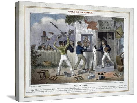 The Victory!-Peter Pasquin-Stretched Canvas Print