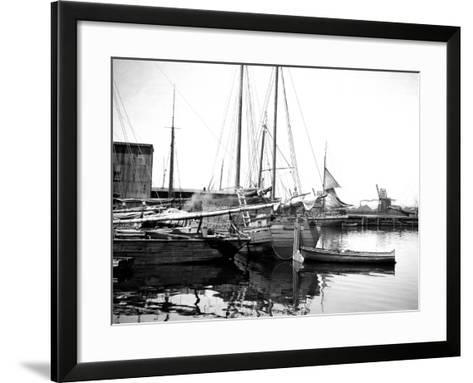 Quebec Harbor, Canada-Edward Hungerford-Framed Art Print