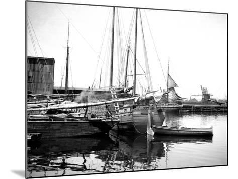 Quebec Harbor, Canada-Edward Hungerford-Mounted Photographic Print