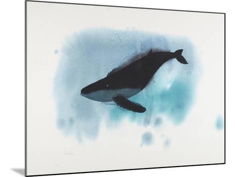 Aqua Deep Whale-Claus Hoie-Mounted Giclee Print