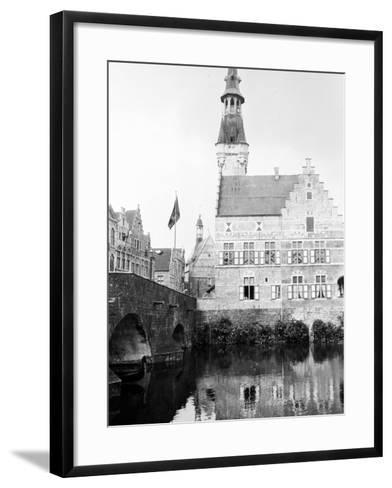 Antwerp, Belgium, 1930-Edward Hungerford-Framed Art Print