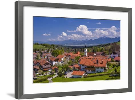 Germany, Bavaria, Upper Bavaria, Pfaffenwinkel, H?rnle Region-Udo Siebig-Framed Art Print