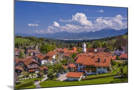 Germany, Bavaria, Upper Bavaria, Pfaffenwinkel, H?rnle Region-Udo Siebig-Mounted Photographic Print