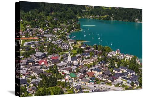 Austria, Salzburger Land (Ferderal State of Austria), Lake Wolfgangsee-Udo Siebig-Stretched Canvas Print