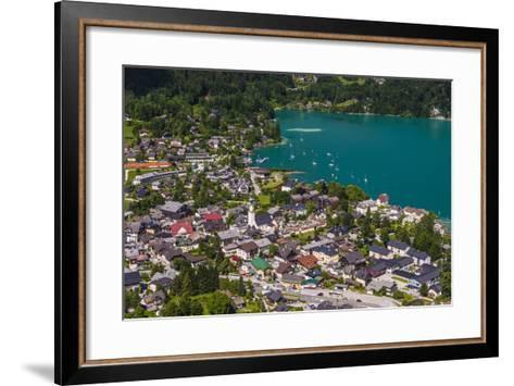 Austria, Salzburger Land (Ferderal State of Austria), Lake Wolfgangsee-Udo Siebig-Framed Art Print