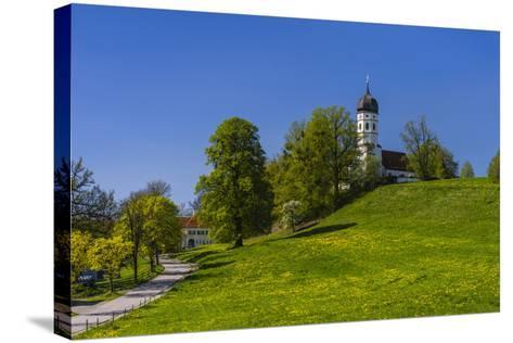 Germany, Bavaria, Upper Bavaria, T?lzer Land (Area), Holzhausen-Udo Siebig-Stretched Canvas Print