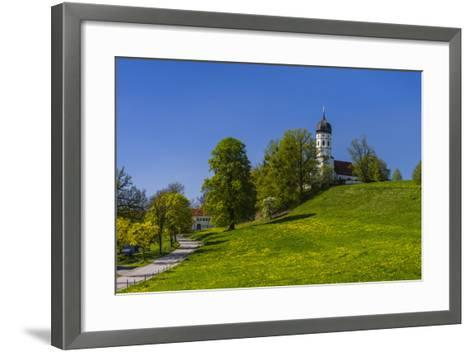 Germany, Bavaria, Upper Bavaria, T?lzer Land (Area), Holzhausen-Udo Siebig-Framed Art Print