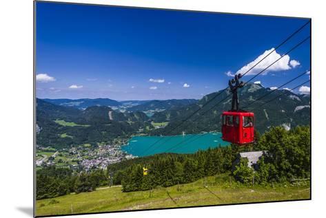 Austria, Salzburger Land (Ferderal State of Austria), Lake Wolfgangsee-Udo Siebig-Mounted Photographic Print