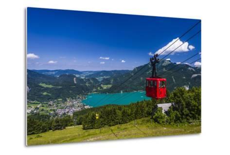 Austria, Salzburger Land (Ferderal State of Austria), Lake Wolfgangsee-Udo Siebig-Metal Print
