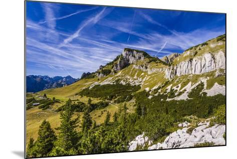 Austria, Tyrol, Achensee Region, Rofan (Mountains), Maurach Am Achensee-Udo Siebig-Mounted Photographic Print