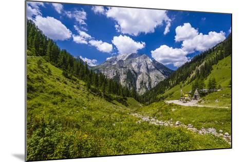 Austria, Tyrol, Karwendel Mountains, Alpenpark Karwendel, Alpine Village 'Eng'-Udo Siebig-Mounted Photographic Print