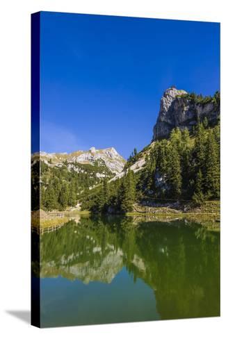 Austria, Tyrol, Achensee Region, Rofan (Mountains), Maurach Am Achensee-Udo Siebig-Stretched Canvas Print