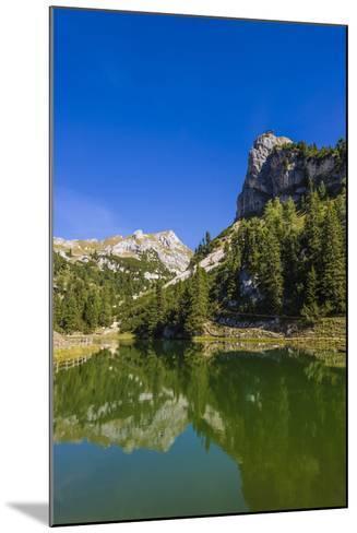 Austria, Tyrol, Achensee Region, Rofan (Mountains), Maurach Am Achensee-Udo Siebig-Mounted Photographic Print