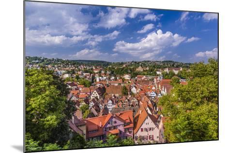 Germany, Baden-Wurttemberg, Neckartal (Neckar Valley), TŸbingen, Village-Udo Siebig-Mounted Photographic Print
