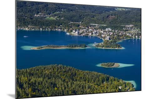 Austria, Carinthia, W?rthersee, P?rtschach, 'Schlangeninsel'-Udo Siebig-Mounted Photographic Print