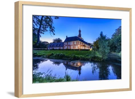 Germany, Schleswig-Holstein, North Frisia, 'Husumer Bucht' (Bay), Husum-Udo Siebig-Framed Art Print