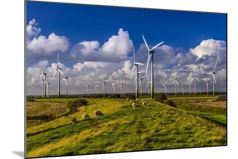 Germany, Schleswig-Holstein, North Frisia, North Frisian Marsh, Breklum-Udo Siebig-Mounted Photographic Print
