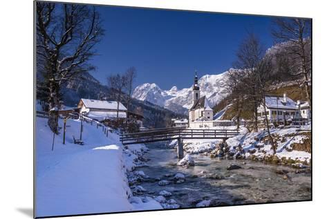 Germany, Bavaria, Upper Bavaria, Berchtesgaden, Ramsau Bei Berchtesgaden-Udo Siebig-Mounted Photographic Print